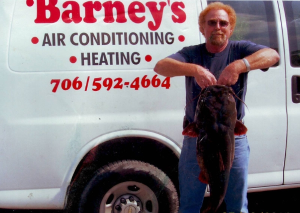 Barney and a Friend | Barney's Air Conditioning and Heating, Inc.