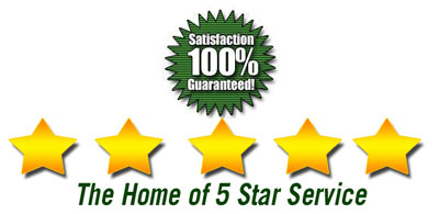 5 Star Service | Barney's Air Conditioning and Heating, Inc.